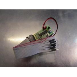 Blits modul - 8 dioder - orange