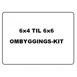 Tamiya lastebil 6x6 / 4x4 ombyggings-kit
