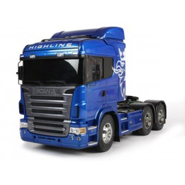 Scania R620 Highline Blue 6x4