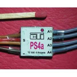 PS4a - 4 veis bryter