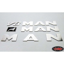 Metal emblemer - MAN TGX