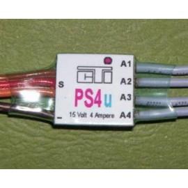 PS4u - 4 funksjoner høyre