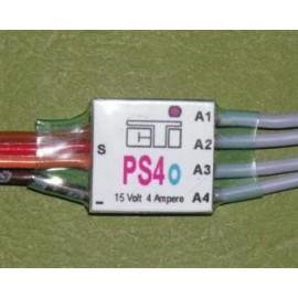 PS4o - 4 funksjoner venstre