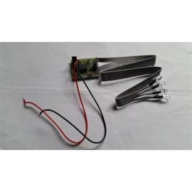 Blits modul - 4 dioder - orange