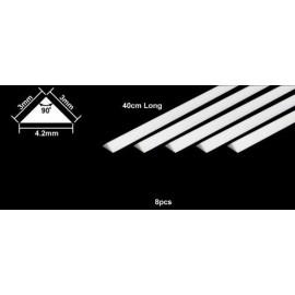 Trekantlist 3x3 - Plast