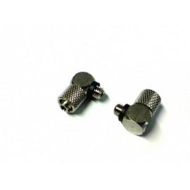 Nippel 90grader M5 - 6mm slange